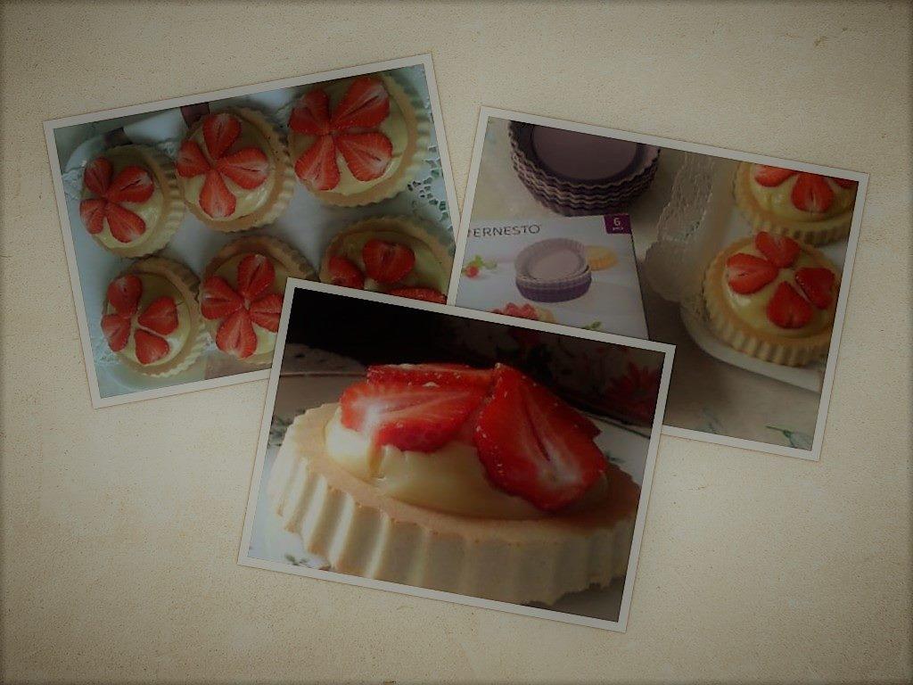 Gyümölcs tortácskák (tej és cukormentes)