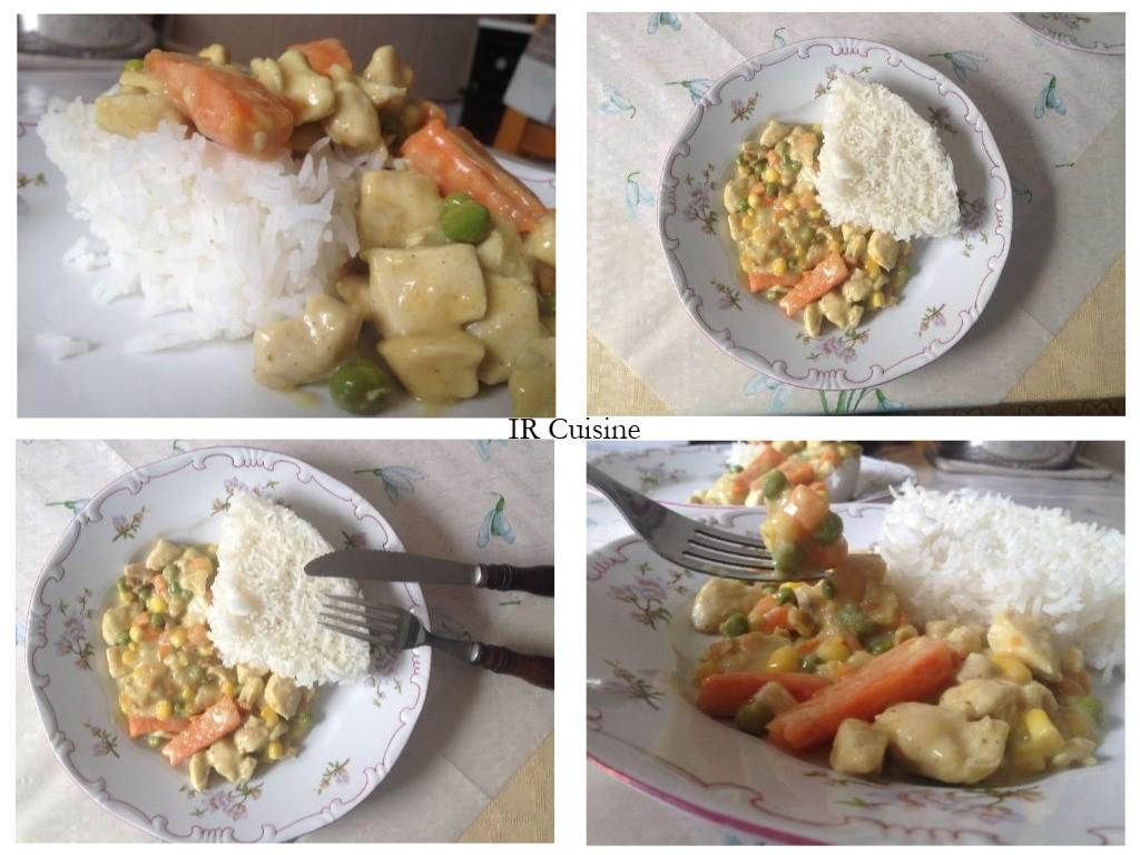 Kókusztejes, currys csirke (glutén, cukor és tejmentes recept)