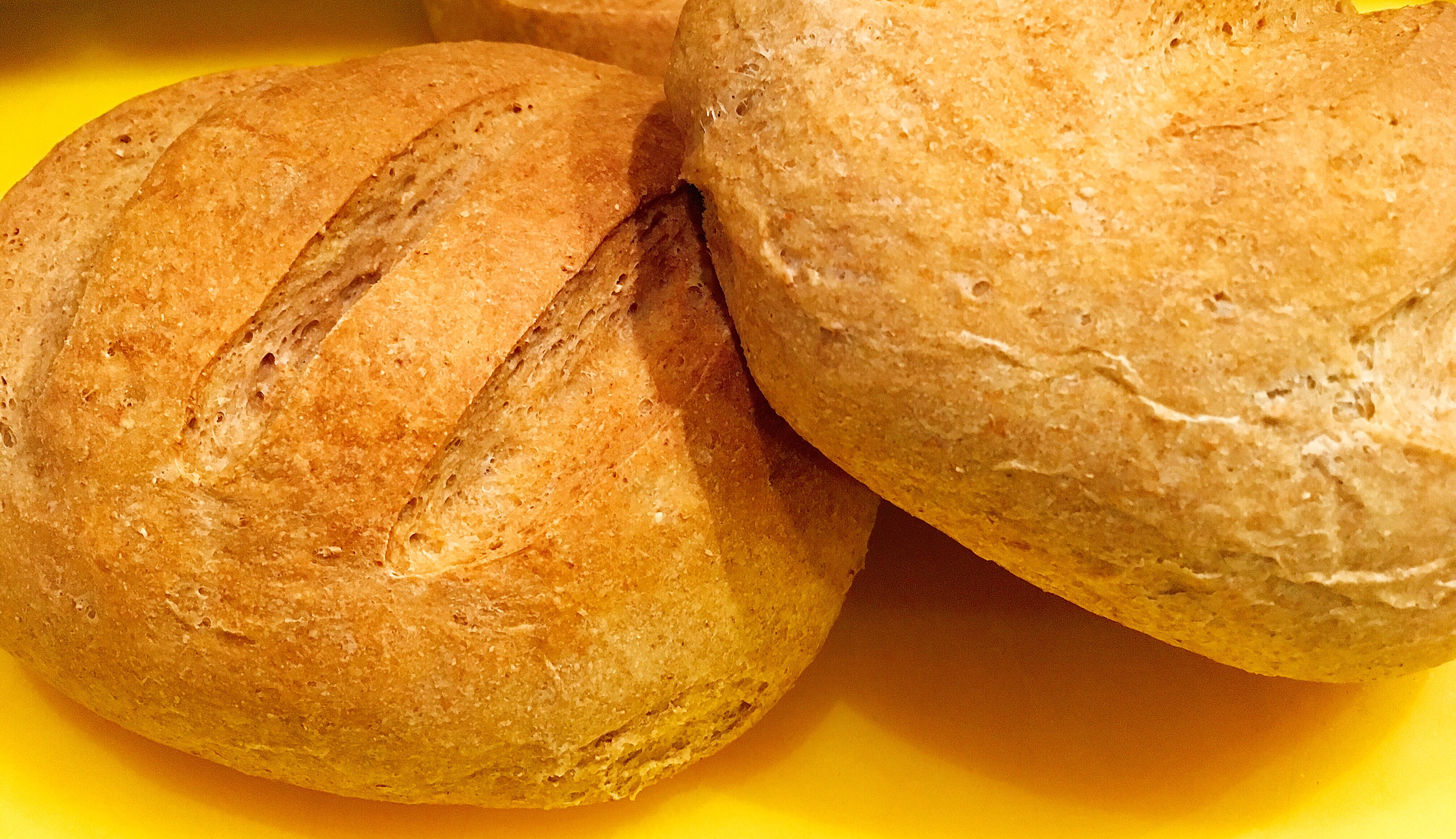 IR barát cipók (teljes kiőrlésű, vegán kenyér recept)