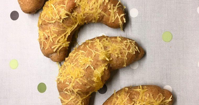 "Vegán ""sajtos"" kiflik"