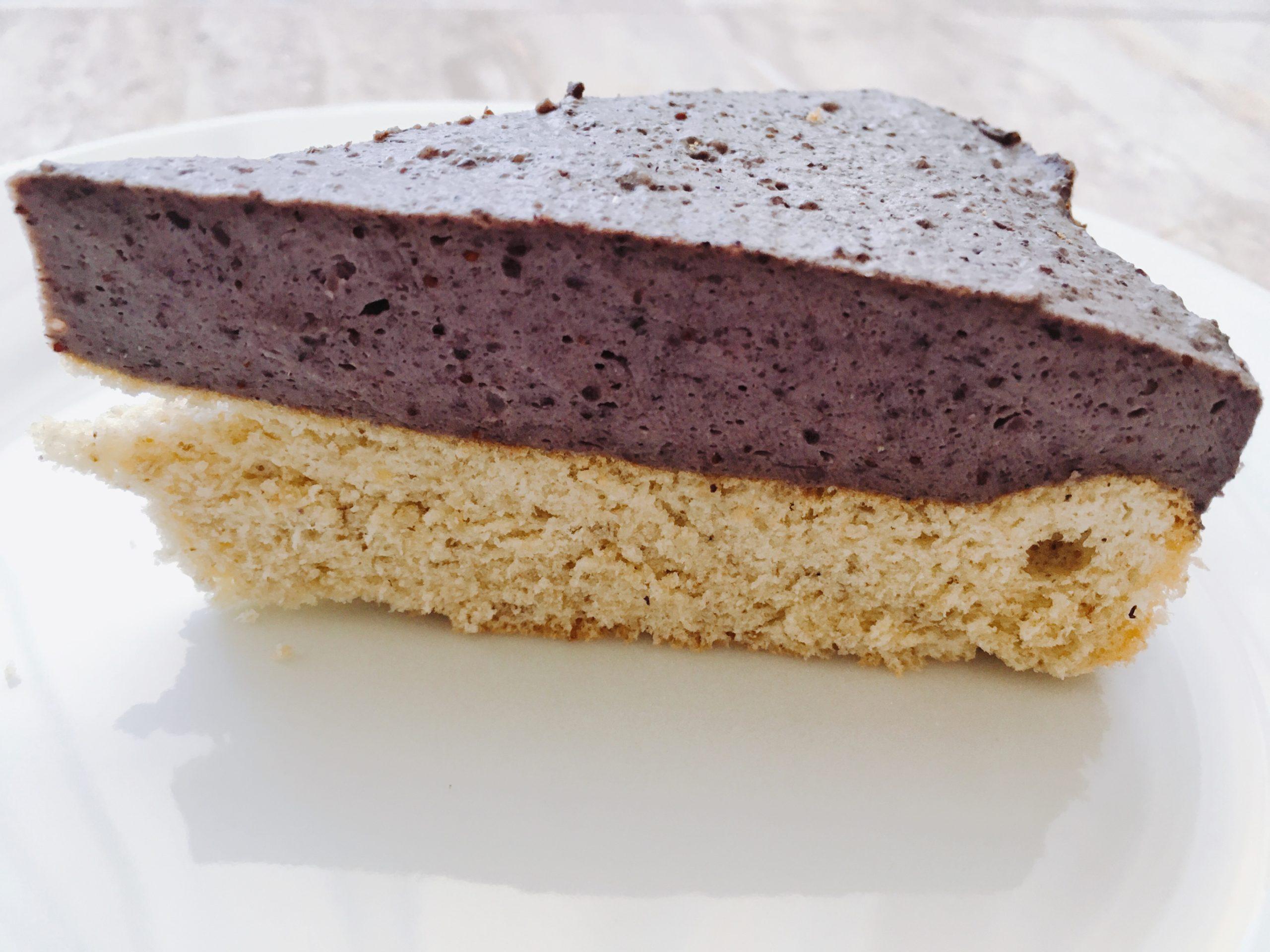 Áfonyás mascarpone torta